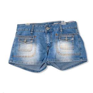 Indigo Rein Blue Jean Shorts